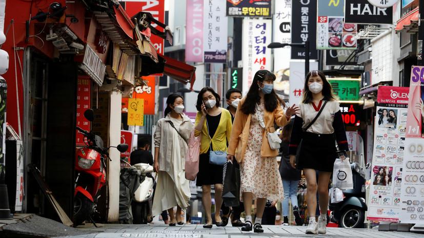 В Южной Корее выявили 61 новый случай коронавируса за сутки
