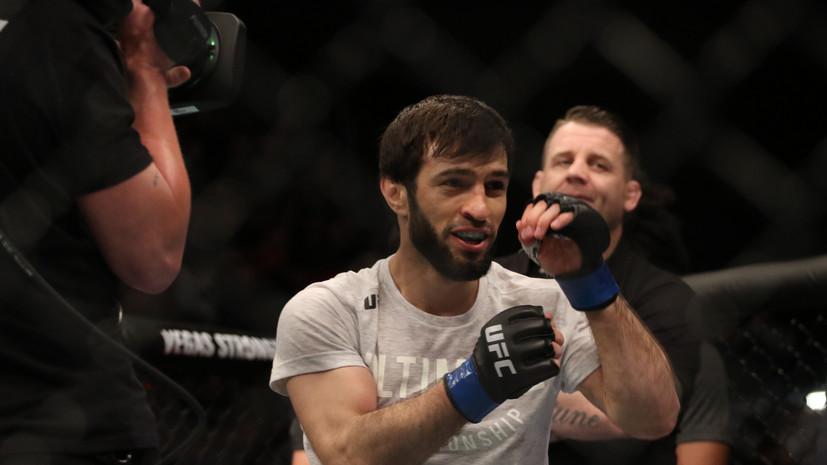 Тухугов назвал своего следующего соперника в UFC