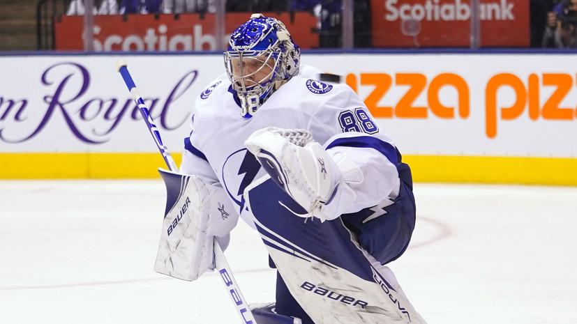 Василевский признан лучшим голкипером НХЛ по версии NHL Network