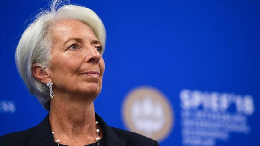 Лагард отметила восстановление активности в еврозоне