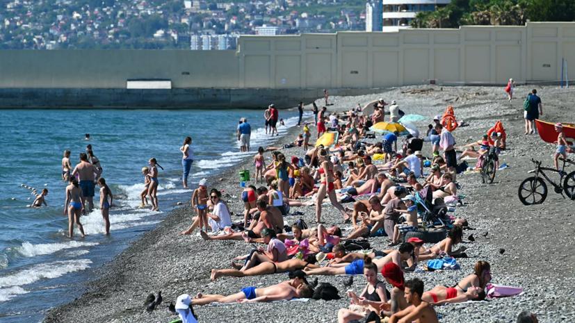 Власти Сочи заявили о более чем 150 тысячах туристов на курорте