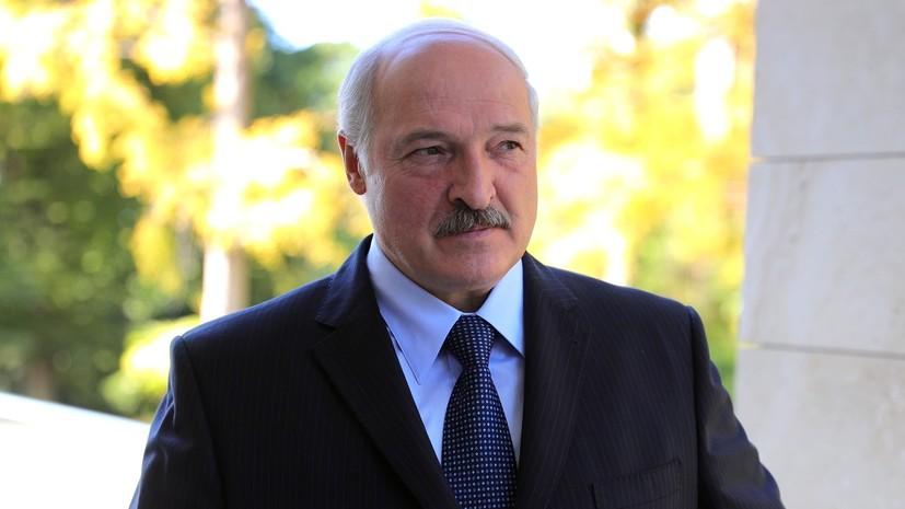 Лукашенко: белорусы никогда не встают на колени перед вызовами времени
