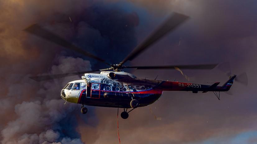 Лесопожарные службы потушили в России 107 природных пожаров за сутки