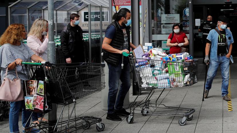 В Германии за сутки выявили 583 новых случая коронавируса