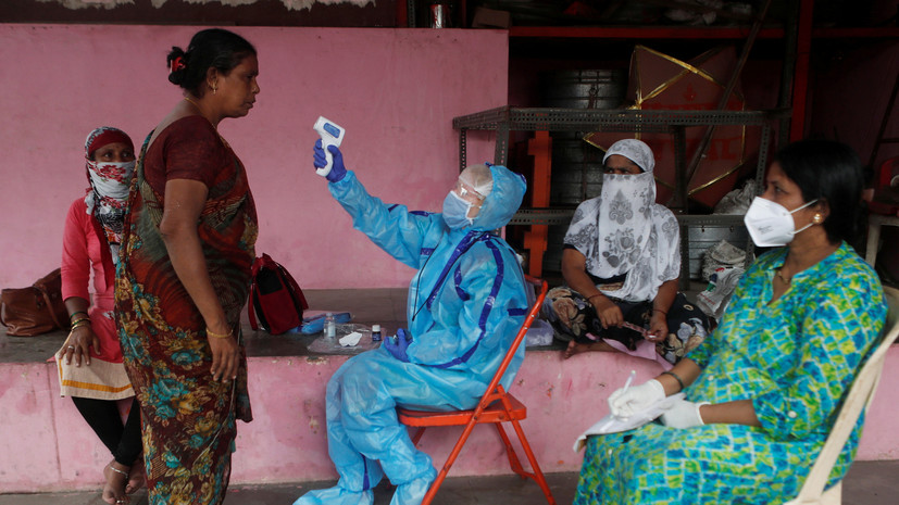 Число случаев коронавируса в Индии превысило 1 млн