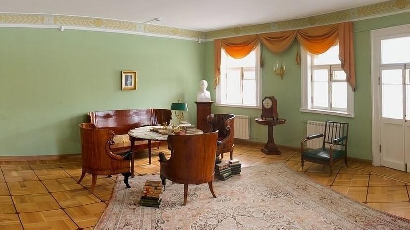 Музей-квартира Пушкина в Петербурге откроется с 20 июля