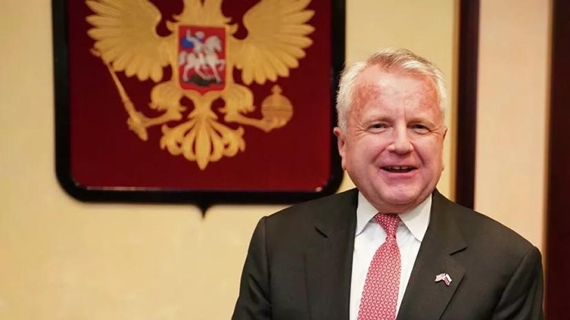 Салливан рассказал о традиции «космического рукопожатия» России и США