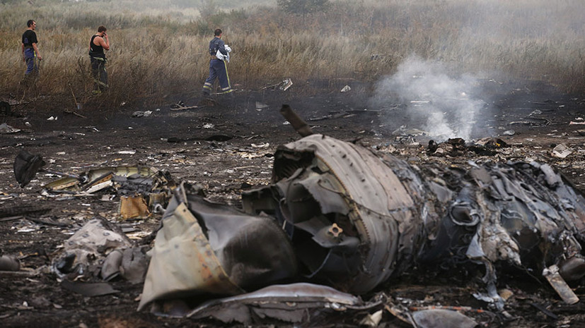 В Нидерландах начали расследование действий Украины при крушении MH17