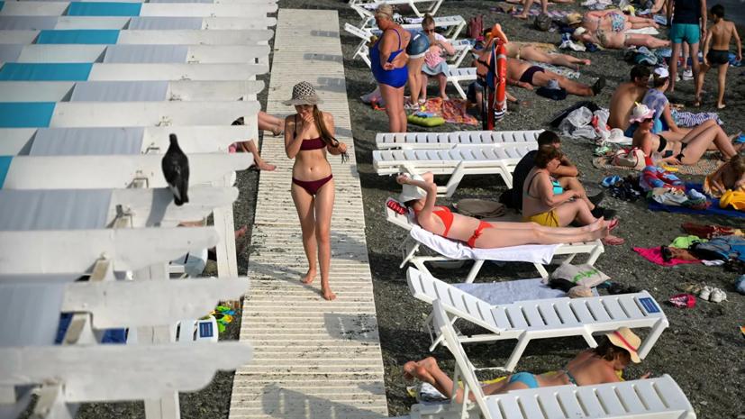 Загрузка отелей в Сочи после возобновления работы достигла 90%