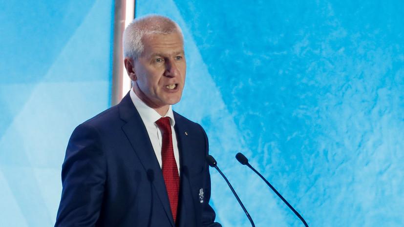 Матыцин поздравил спортсменов, тренеров и болельщиков с юбилеем Олимпиады-80 в Москве