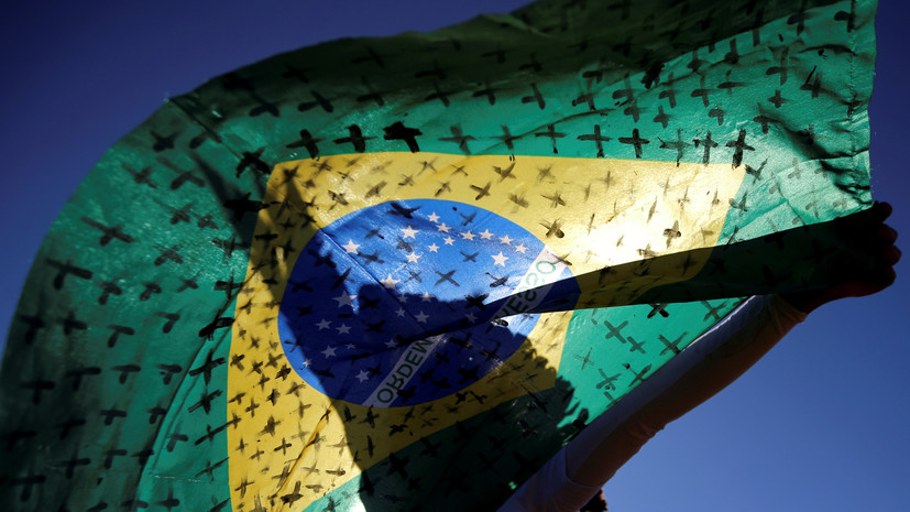 ВОЗ: Бразилия вышла на плато по коронавирусу