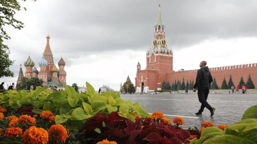 Погода в Москве возвращается к климатической норме