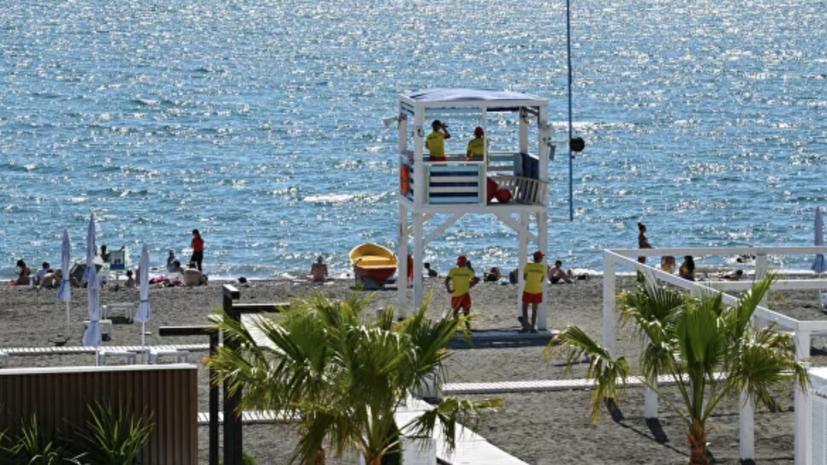 На курортах России понизилась температура воды