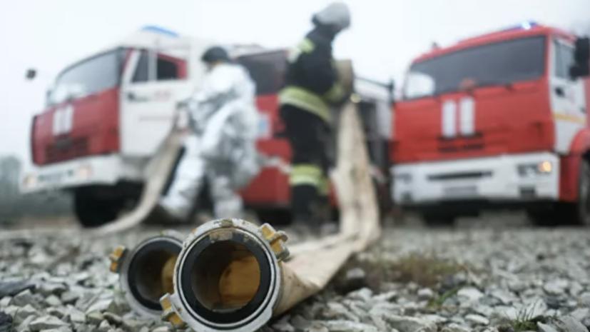 Число пожаров в России с начала года снизилось на 10%