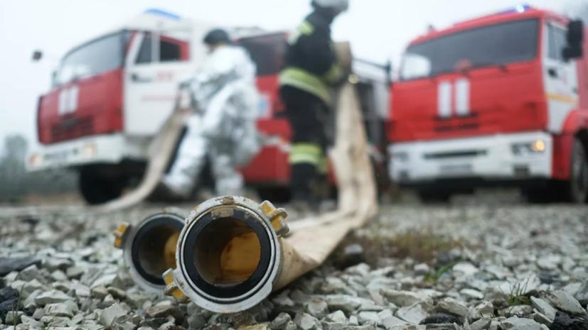 Пожар на складе картона в Мытищах ликвидирован