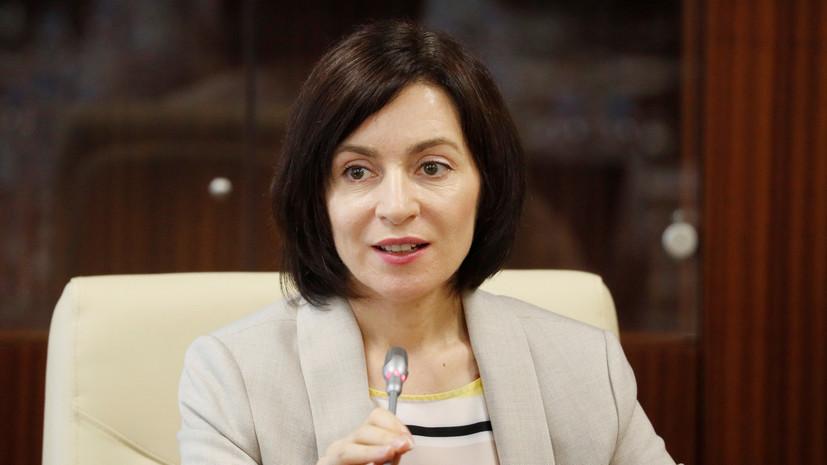 Экс премьер Молдавии стала кандидатом на пост президента