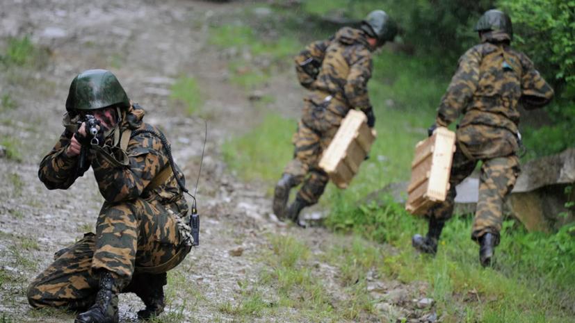 Военные ЮВО совершили марш через горные перевалы Кавказа