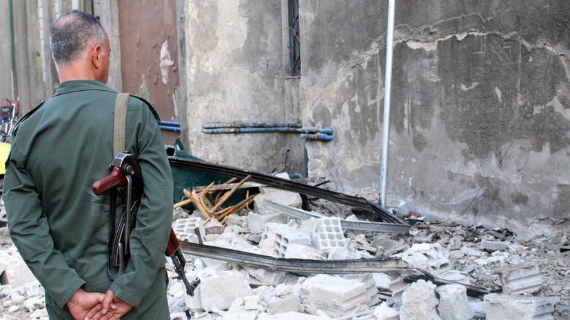 В Дамаске взорвались две бомбы