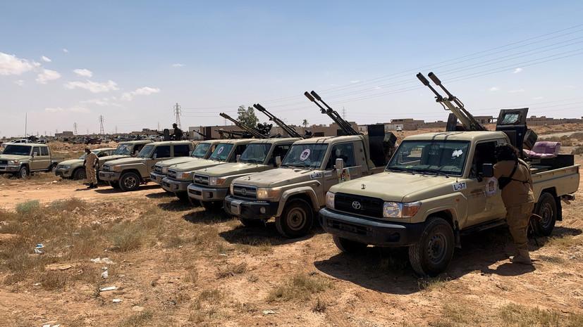 ФРГ, Италия, Франция рассмотрят санкции за нарушение эмбарго в Ливии