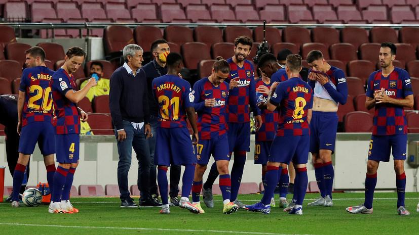 Сетьен считает, что «Барселоне» по силам выиграть ЛЧ в нынешнем сезоне