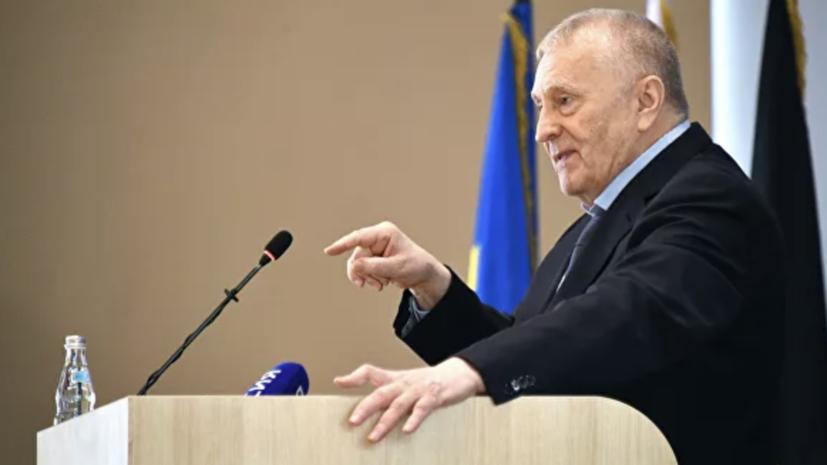 Жириновский оценил сроки назначения врио главы Хабаровского края