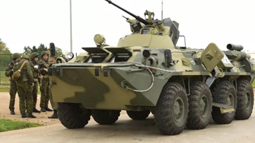 Российских танкистов в Абхазии подняли по тревоге в рамках проверки