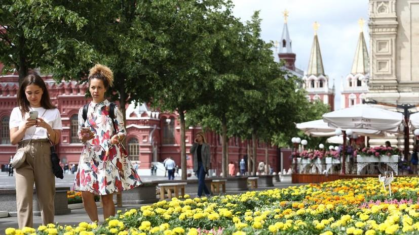 В Москве 19 июля ожидается до +23 °С