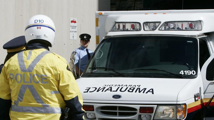 Не менее трёх человек погибли в результате ДТП с автобусом в Канаде