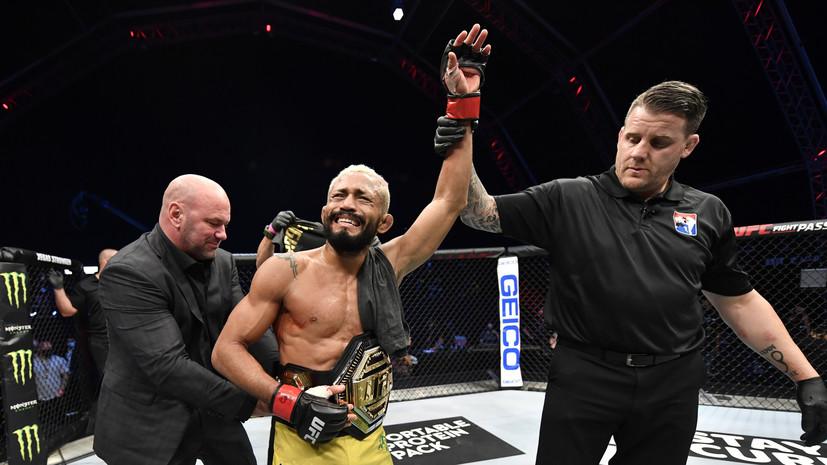 Фигередо нокаутировал Бенавидеза и стал чемпионом UFC в наилегчайшем весе
