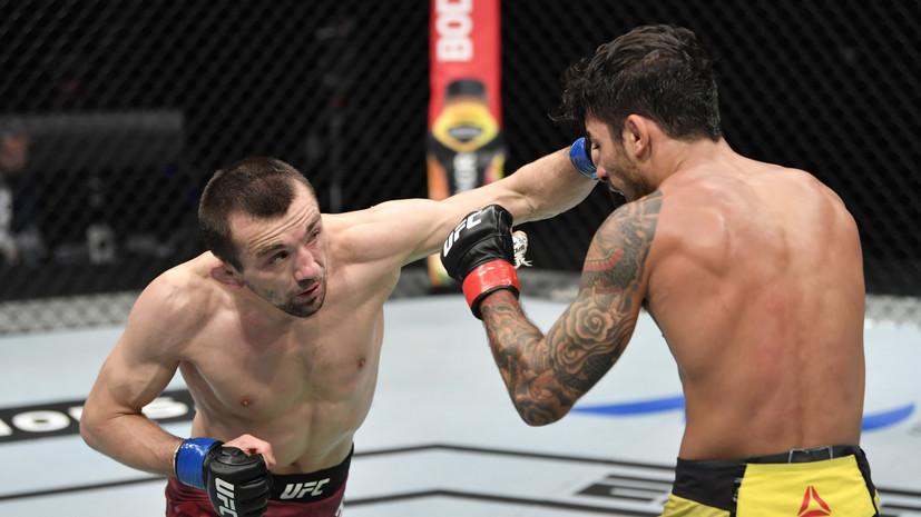 Россияне Аскаров и Царукян победили своих соперников на «Бойцовском острове» UFC