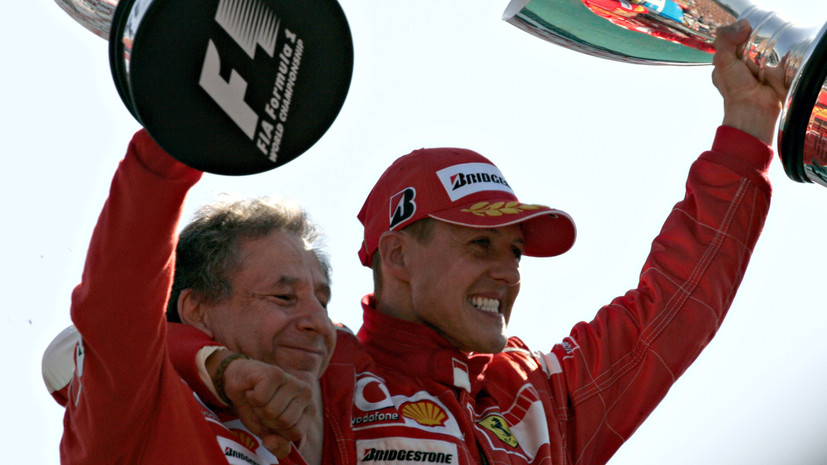 Глава FIA Тодт рассказал о недавней встрече с Шумахером