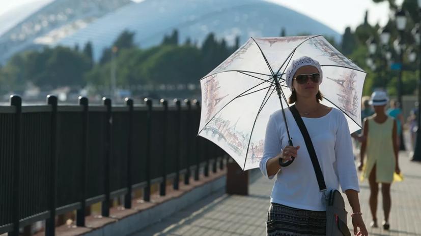 В Сочи объявили экстренное предупреждение из-за жары в 37 °С