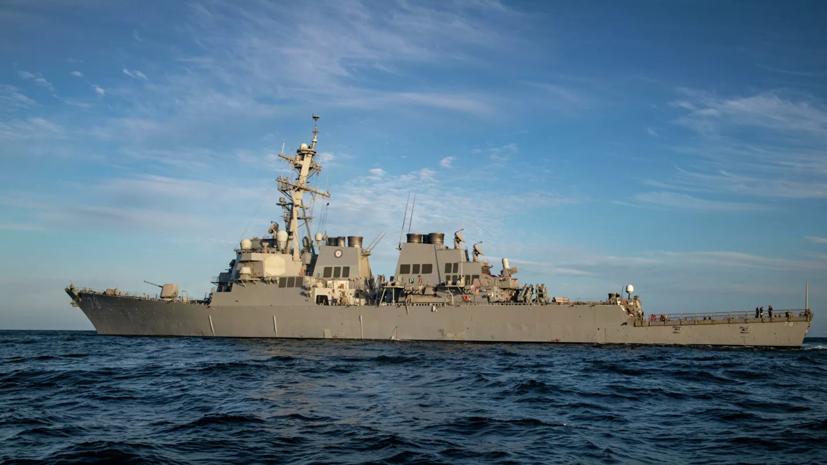 Эсминец США USS Porter направился в Чёрное море