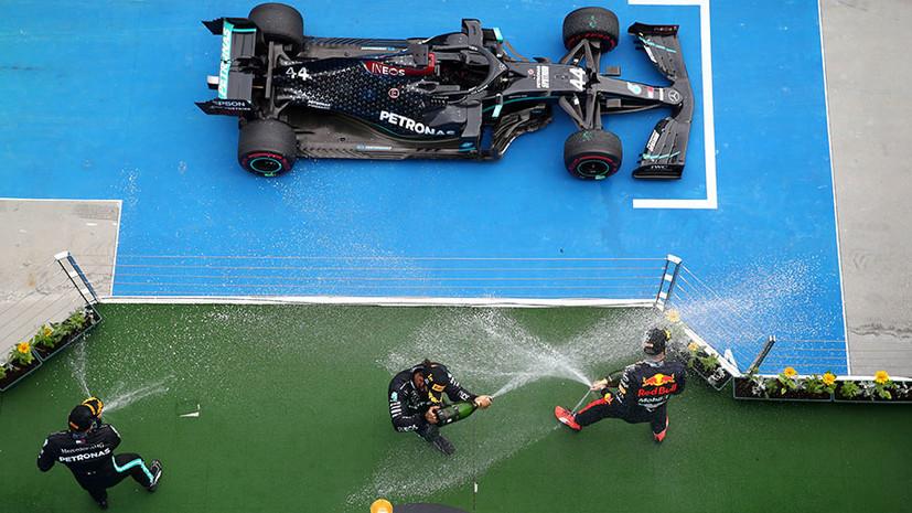 Победа Хэмилтона, спасение Ферстаппена и неудачная тактика Квята: как прошёл Гран-при «Формулы-1» в Венгрии