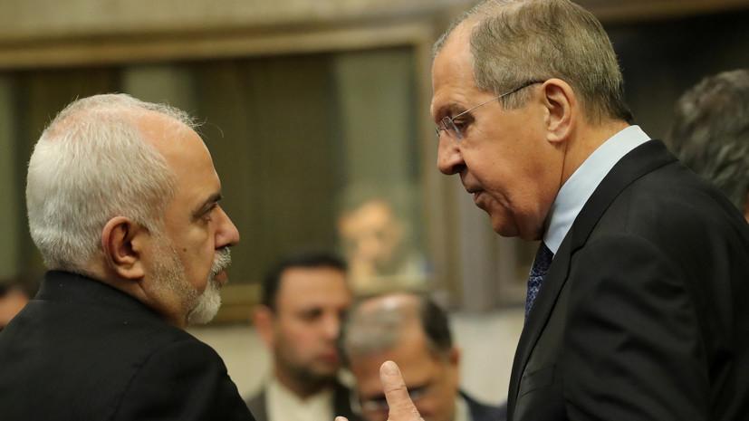 ВМИД Российской Федерации  анонсировали встречу Лаврова сЗарифом