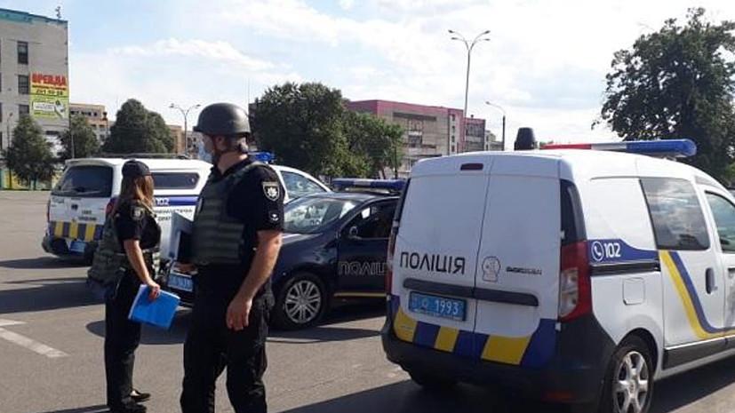 В кафе в Киеве произошёл взрыв