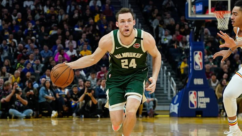 Баскетболист «Милуоки» Коннотон сдал положительный тест на коронавирус