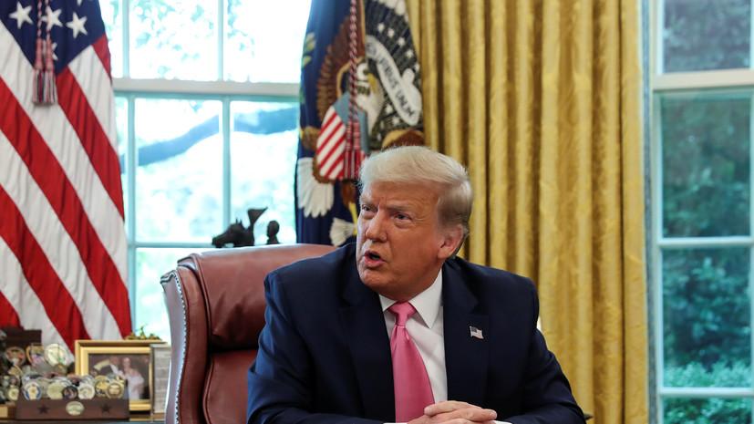 Трамп обсудил Ливию с президентом Египта