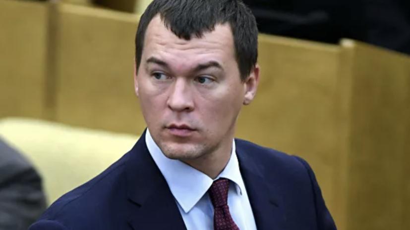 Врио губернатора Дегтярёв прилетел в Хабаровск