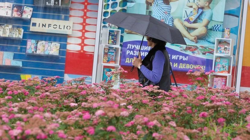 В Москве 21 июля ожидается до +22 °С