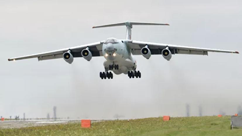 Самолёты Ил-76 задействовали в тушении пожаров в Оренбуржье