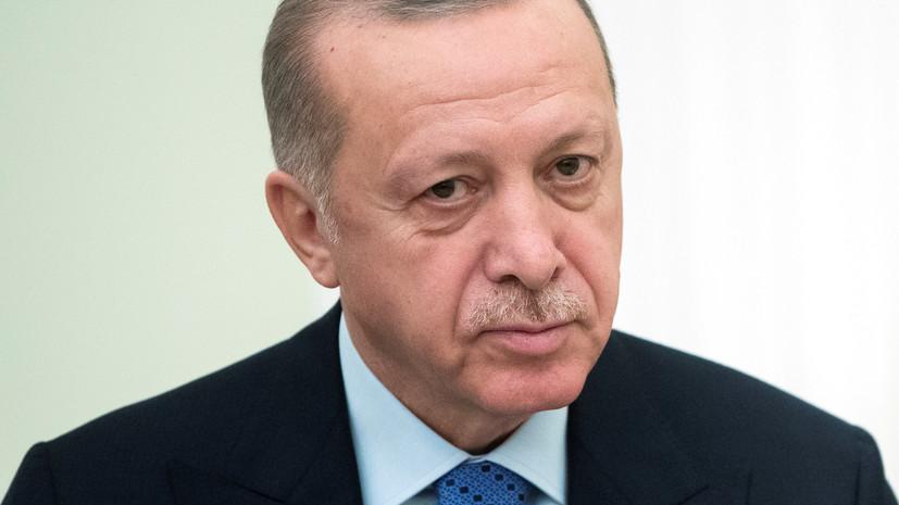Эрдоган пообещал сохранять турецкое присутствие в Сирии