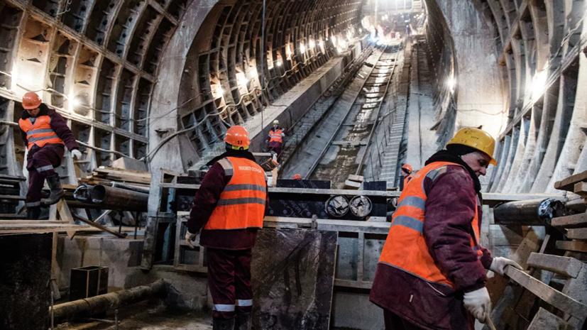 У трёх строящихся станций БКЛ в Москве начались работы по благоустройству
