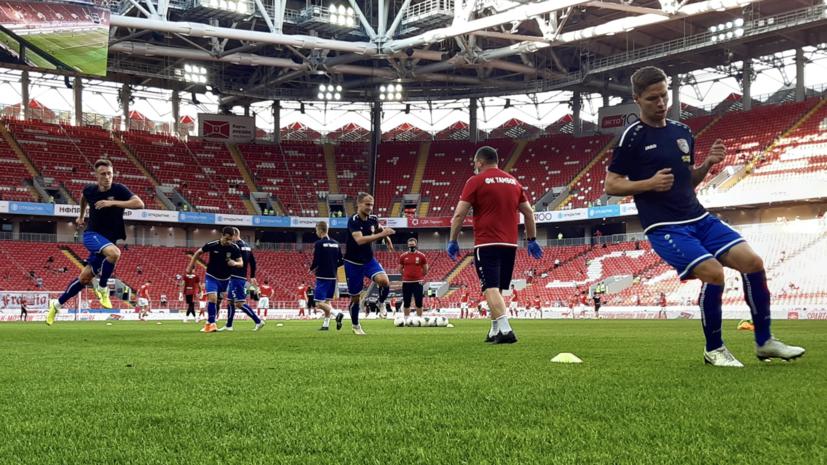 Источник: игроки и функционеры ФК «Тамбов» подали на клуб в суд из-за долгов по зарплате