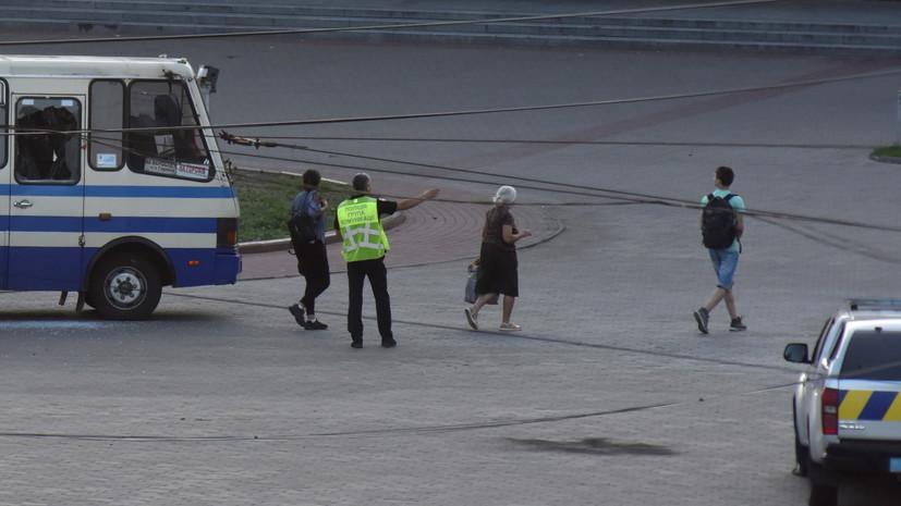 В МВД Украины заявили, что все освобождённые в Луцке заложники целы