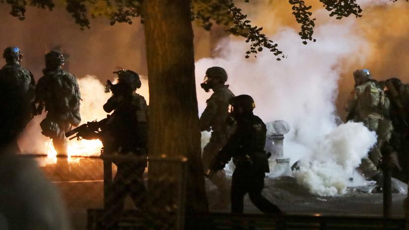 Пентагон не собирается направлять военных в Портленд