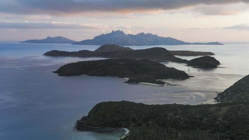 Землетрясение магнитудой 6,0 произошло у побережья Фиджи
