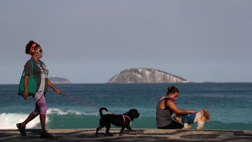 Более 40 тысяч случаев коронавируса выявили в Бразилии за сутки