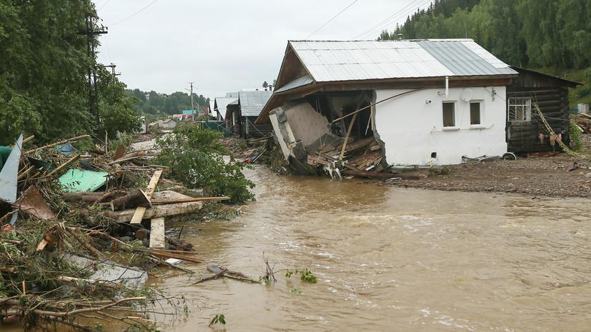 В МЧС сообщили о ситуации с подтоплениямив городе Нижние Серги
