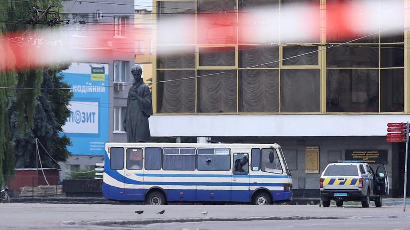 Захватившему автобус в Луцке предъявили обвинения